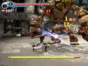 Golem boss Castlevania: Lament of Innocence ps2 Konami