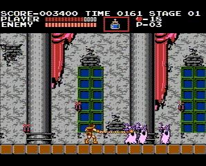 Castlevania Simon Belmont killing zombies