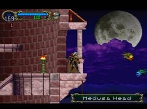 Medusa head Castlevania Symphony of the Night PS1 Konami