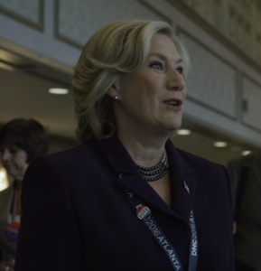 Democratic national convention Cathy Durant House of Cards Netflix