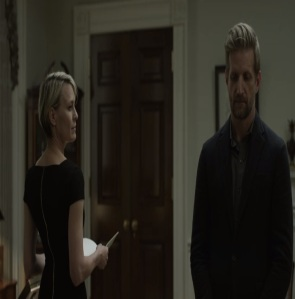 Tom Yates and Claire Underwood House of Cards Netflix