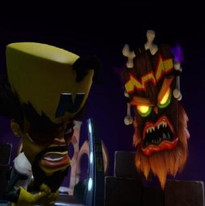 Evil mask and dr cortex Crash Bandicoot N Sane Trilogy Nintendo Switch Xbox One PS4