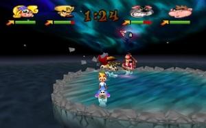 Mario partt clones Crash Bash PS1