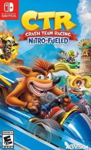 Crash Team Racing Nitro-Fueled Nintendo Switch boxart