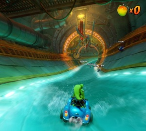 Water tunnel Crash Team Racing Nitro-Fueled Nintendo Switch Xbox One PS4