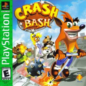 Crash Bash PS1 boxart