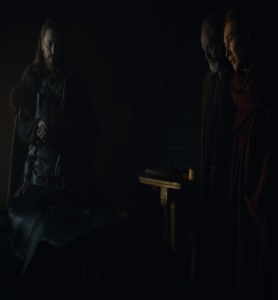Davos Seaworth sees dead Jon Snow game of Thrones HBO
