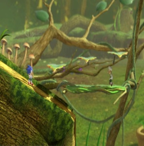 Distant Planet Stage Super Smash Bros ultimate Nintendo Switch Pikmin