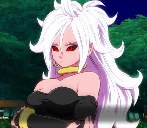 Sexy android 21 Dragon Ball FighterZ