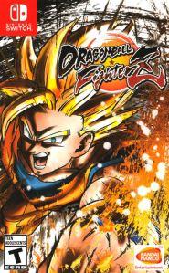 Dragon Ball FighterZ Nintendo Switch boxart