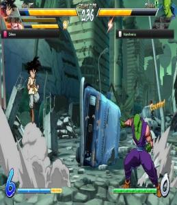 Kid goku vs Piccolo Dragon Ball FighterZ Nintendo Switch Xbox One PS4