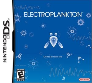Electroplankton Nintendo DS boxart