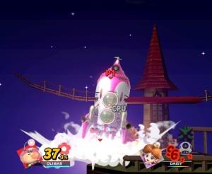 Captain Olimar final Smash super Smash Bros ultimate Nintendo Switch Pikmin