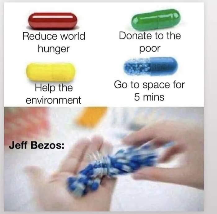 Memes Jeff bezos spaceship