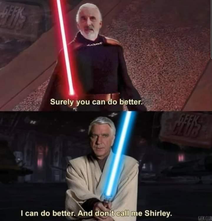 Memes count dooku star Wars