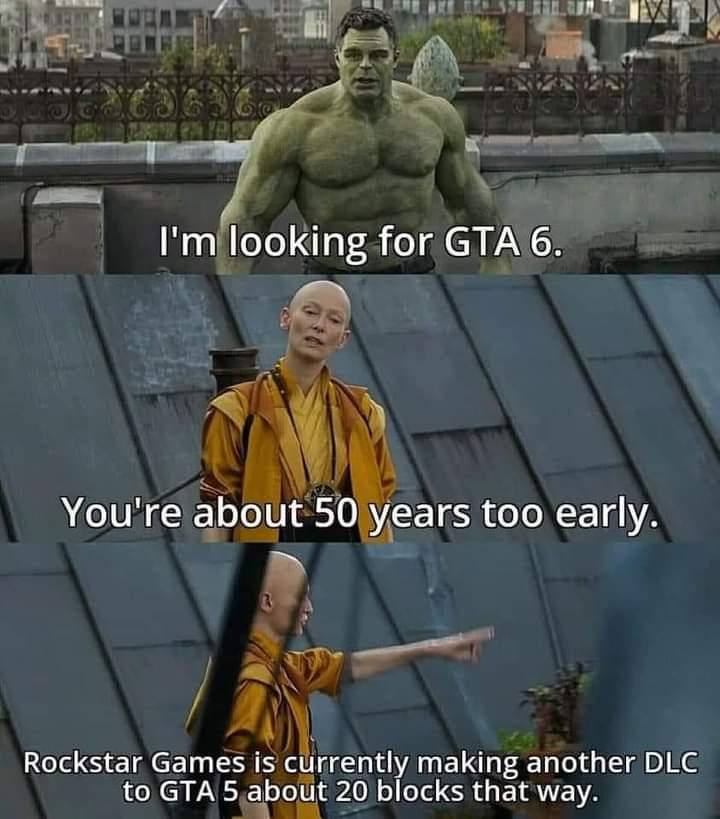 Memes gta 6