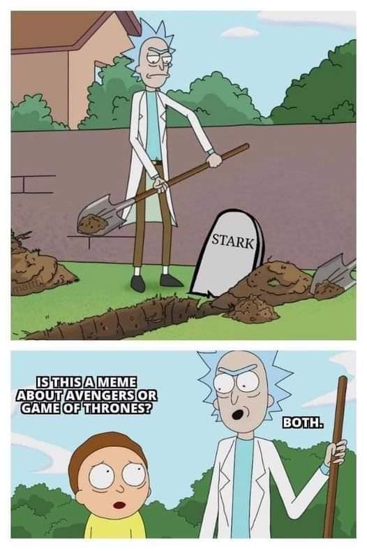 Memes Tony Stark is dead