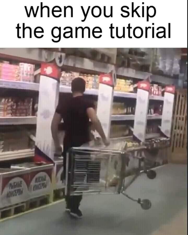 Memes video game tutorials