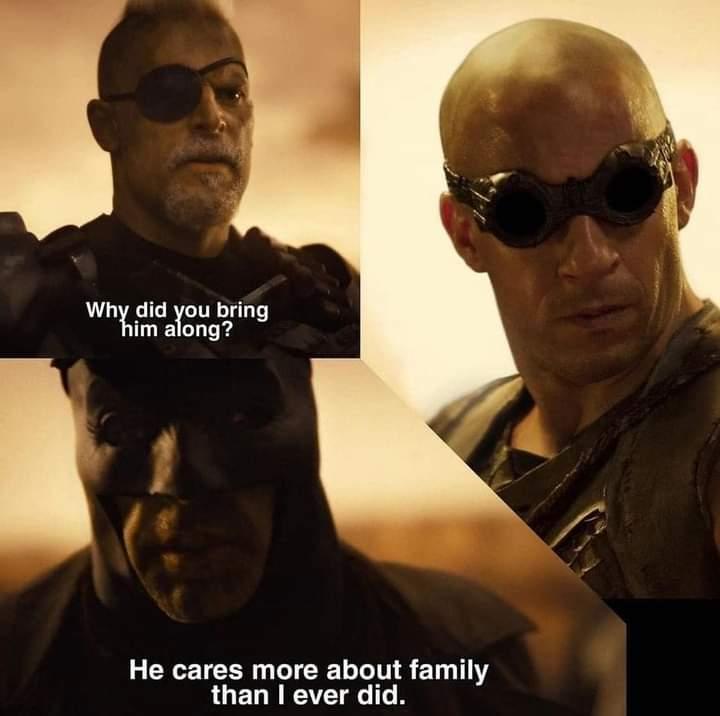 Memes batman vin diesel dom family