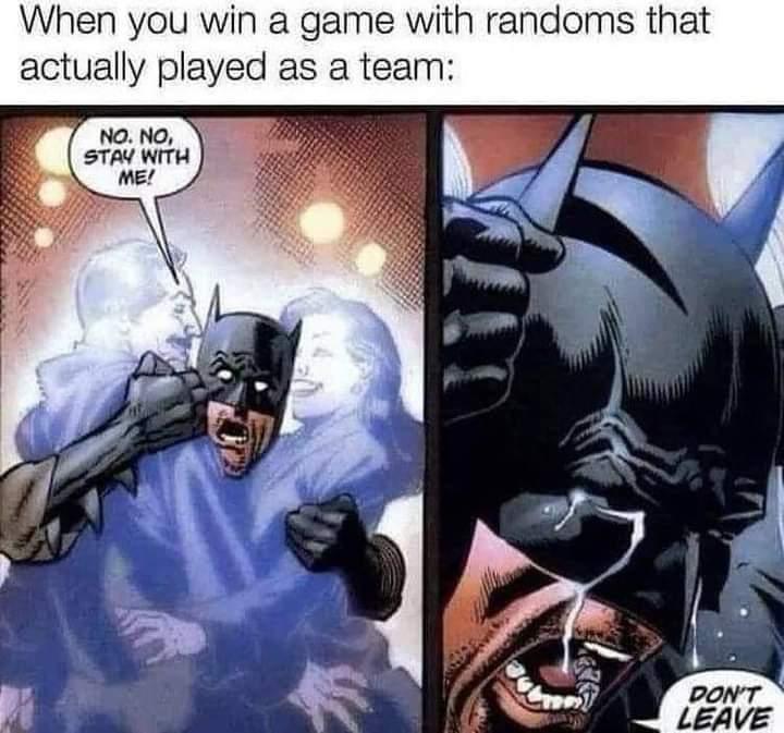 Memes best video game teammates