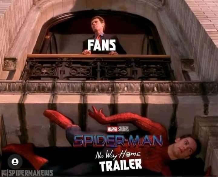 Memes Spider-Man no way home trailer