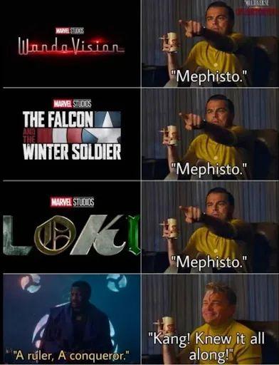 Memes kang the conqueror mcu