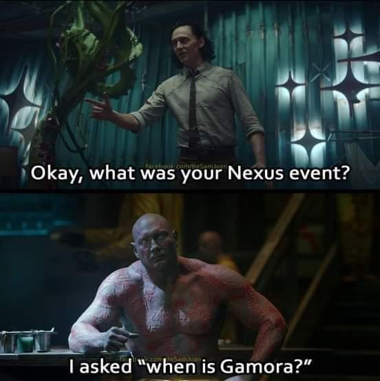 Memes drax and loki marvel