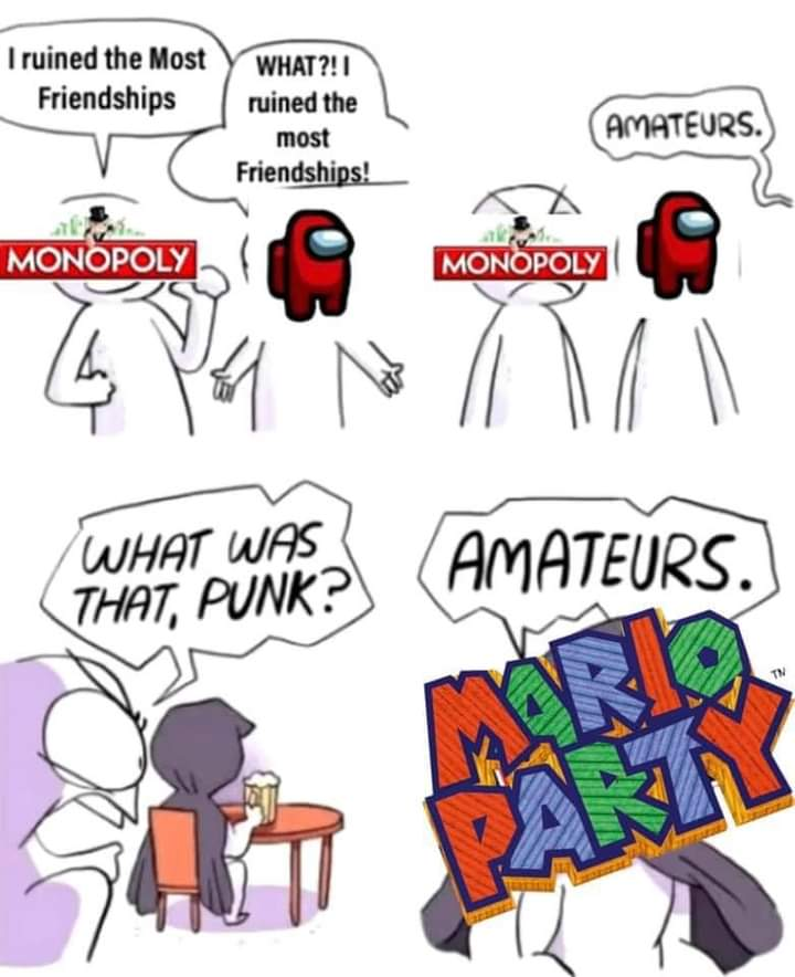 Memes Mario Party friendship destroyer