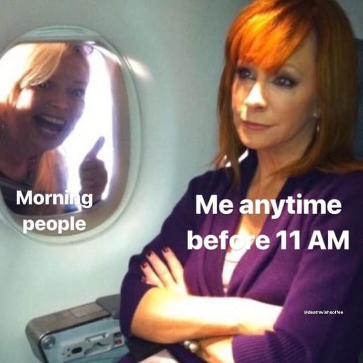 Memes morning people
