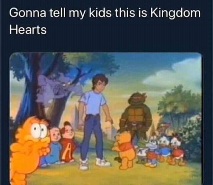 Memes original kingdom hearts