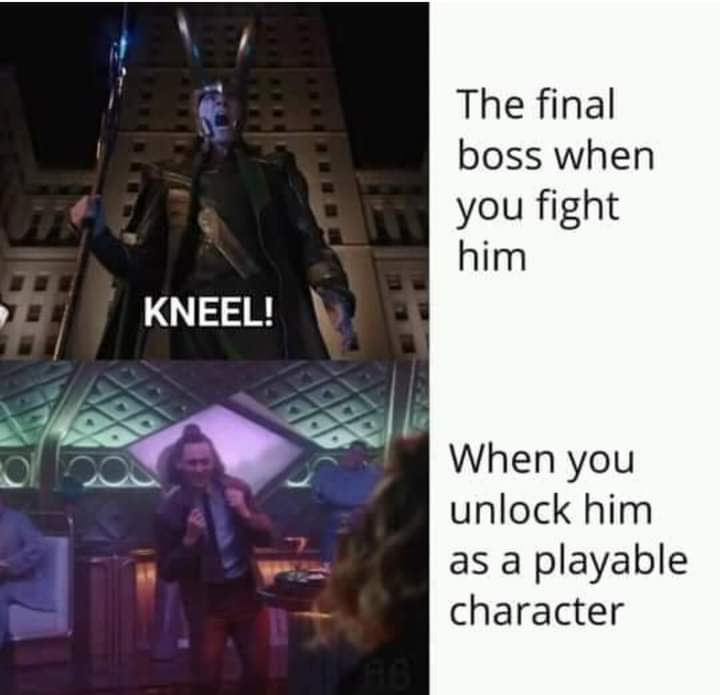 Memes loki final boss