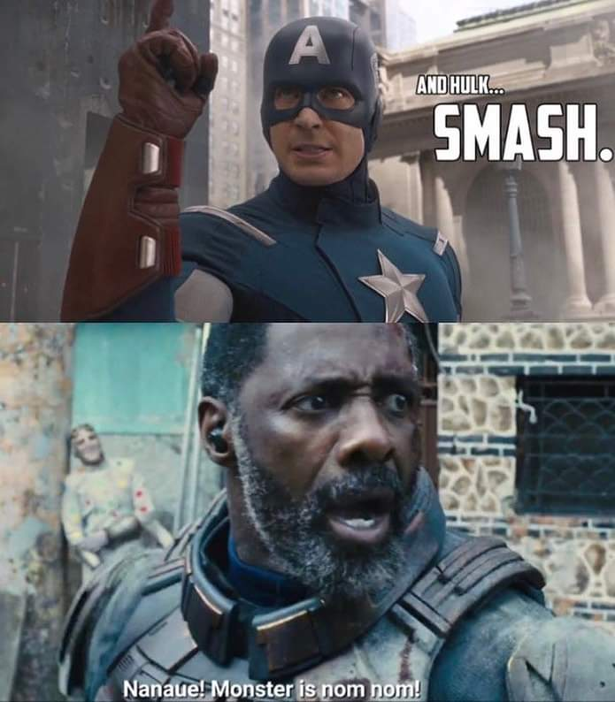Memes king shark vs Hulk