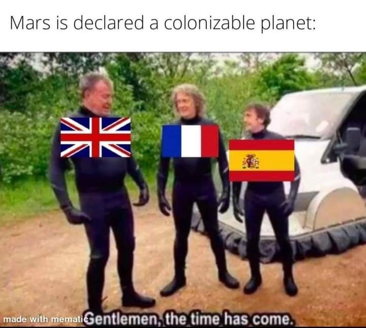 Memes mars colonization