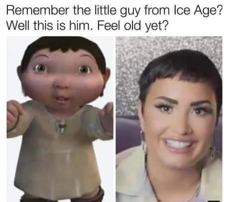 Memes demi Lovato ice age