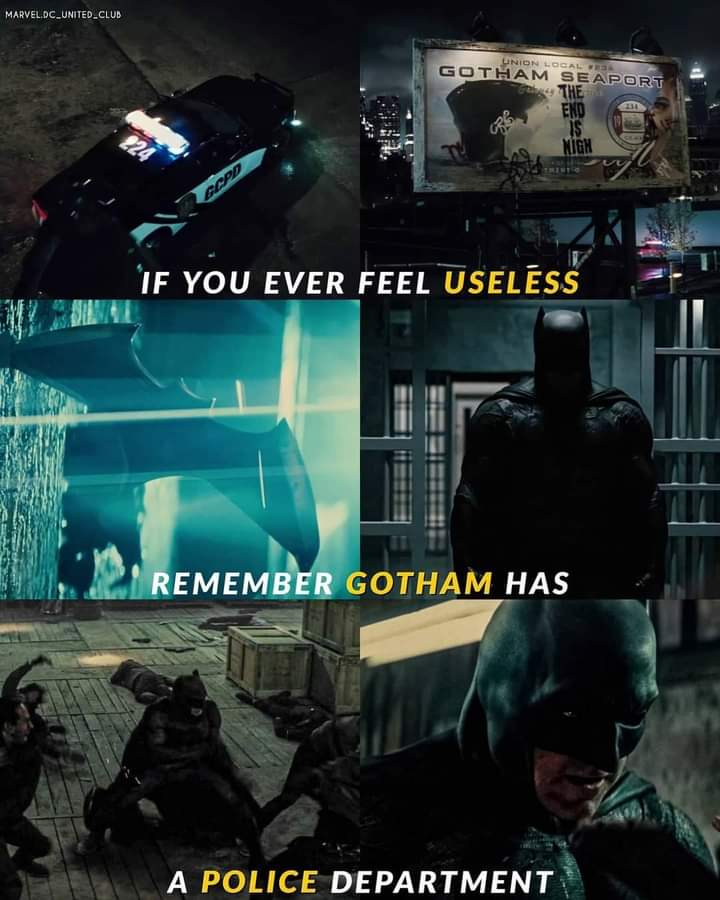 Memes Gotham City police department