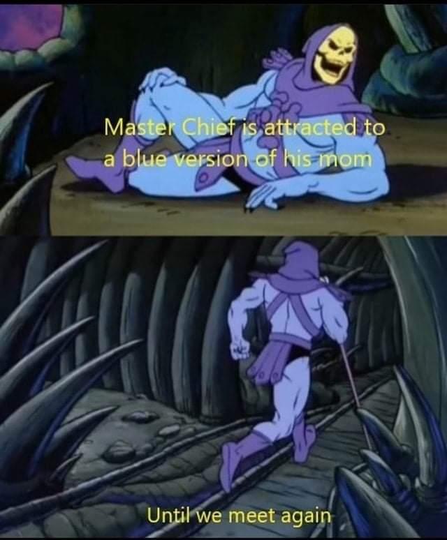 Memes master chief and cortana halo