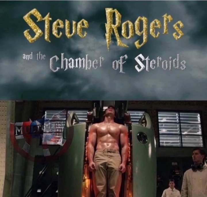 Memes Steve Rogers becoming captain America