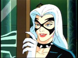Sexy black cat Spider-Man: The Animated Series