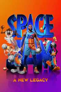 Space jam a new legacy movie poster