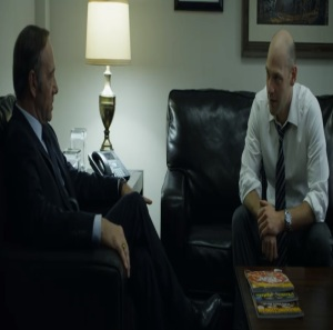 Frank Underwood and Peter Russo scheme House of Cards Netflix