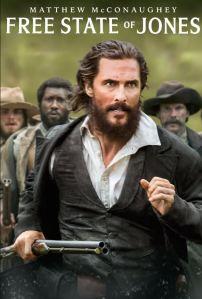 Free State of Jones Matthew McConaughey movie poster