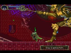 Galamoth Castlevania Symphony of the Night PS1 Konami