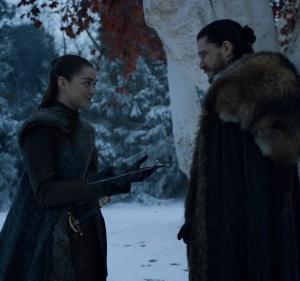 Game of Thrones final season arya Stark and Jon Snow