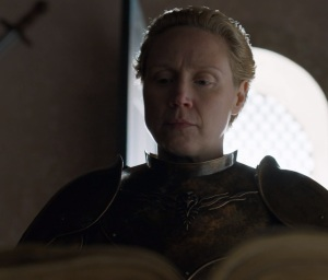 Lord Commander of the Kingsguard Brienne of Tarth game of Thrones HBO