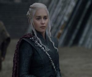 Drop dead gorgeous blonde Daenerys Targaryen Game of Thrones season 7