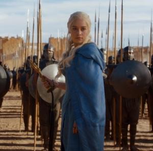 Daenerys Targaryen frees the unsullied Game of Thrones HBO