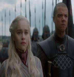 Game of Thrones final season queen Daenerys Targaryen and greyworm