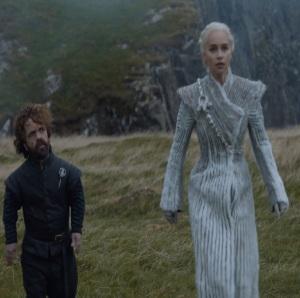 Daenerys Targaryen and Tyrion Lannister dragonstone Game of Thrones HBO