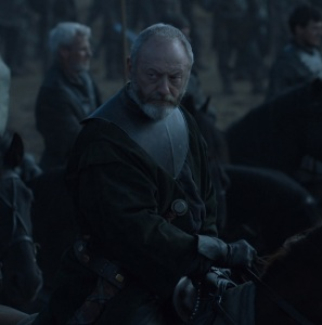 Davos Seaworth battle of the bastards game of Thrones HBO
