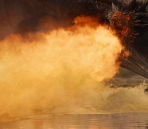 Game of Thrones season 7  drogon breathing fire